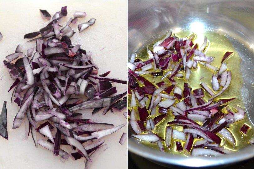 1 tagliare le cipolle