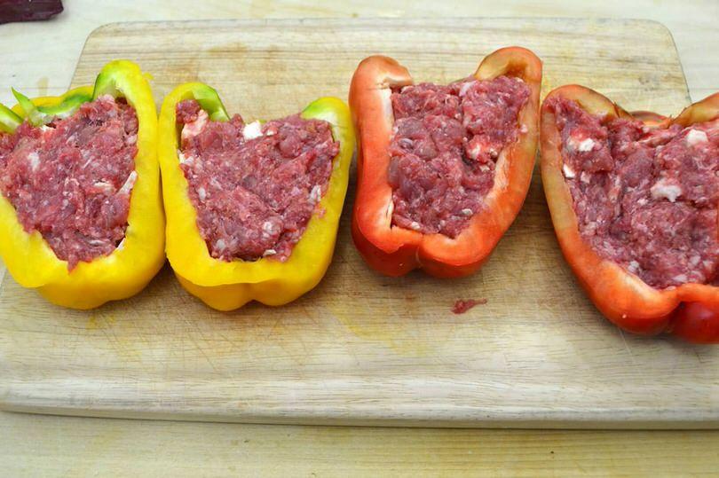 2b riempire peperoni