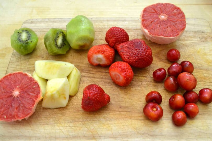 3 lavare frutta