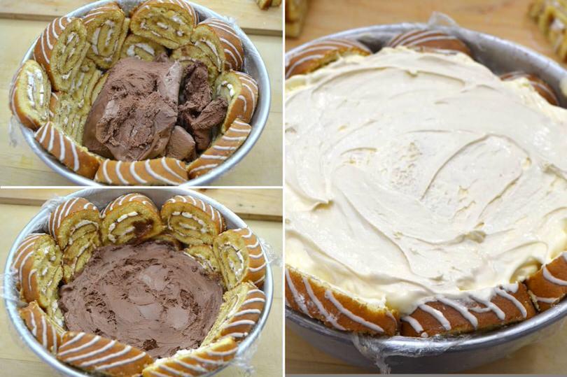 4 farcire con gelato