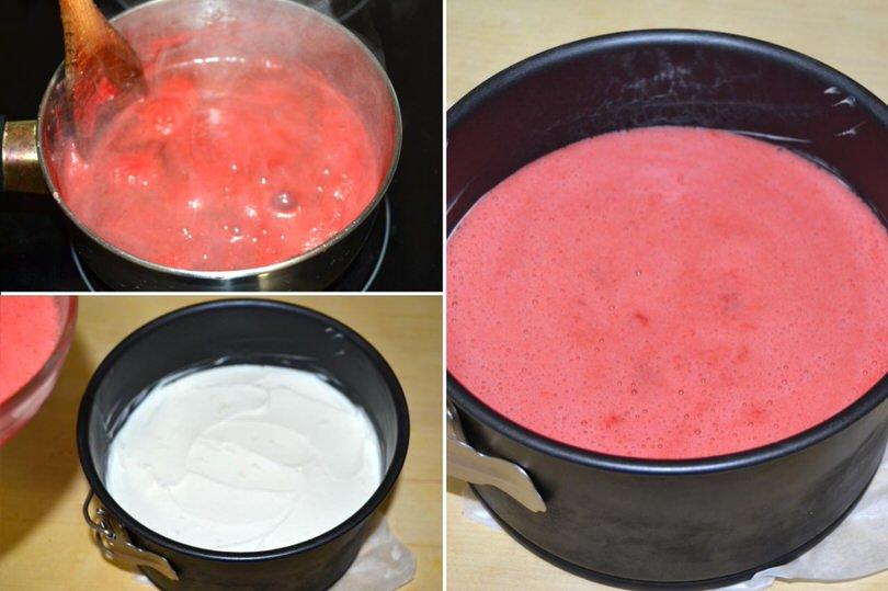 7 versare gelatina