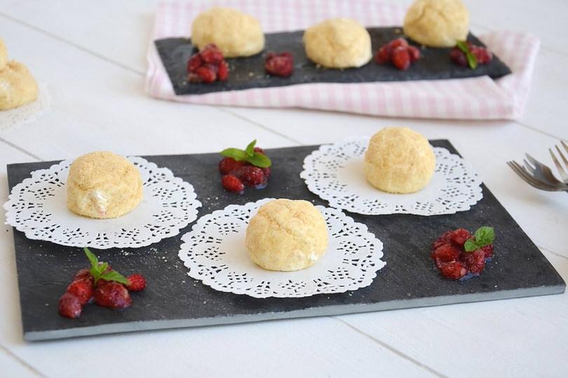 Bon bon di cheesecake