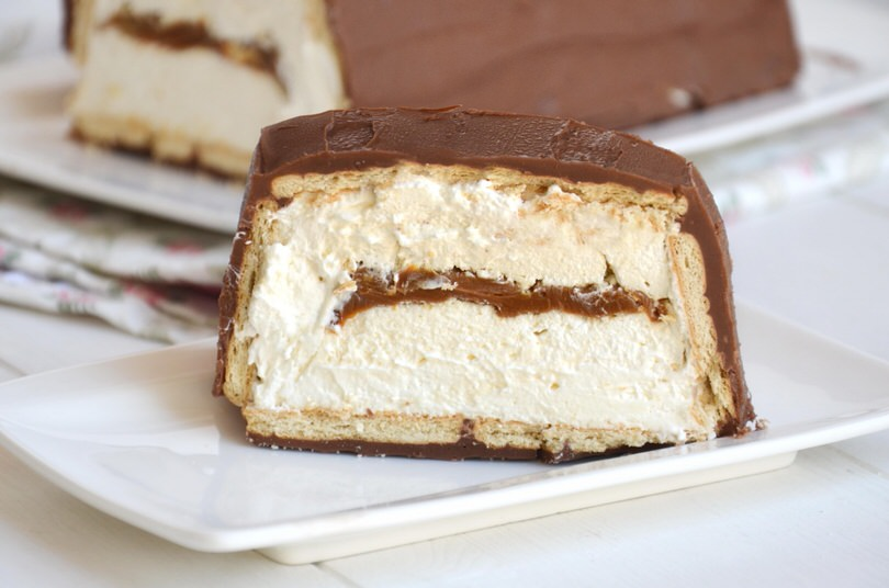 Torta-gelato-twix