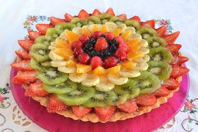 Crostata di frutta Bimby