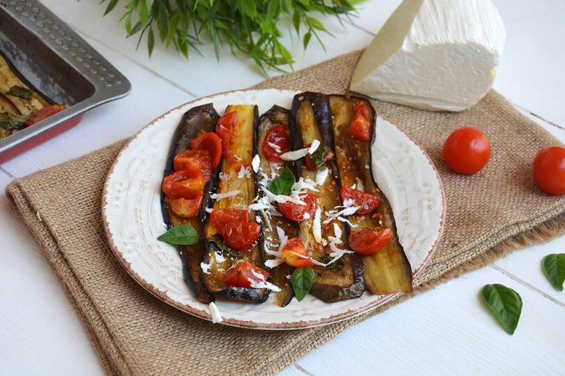 Melanzane al forno ricetta melanzane al forno di misya for Melanzane ricette