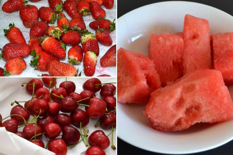 pulire frutta