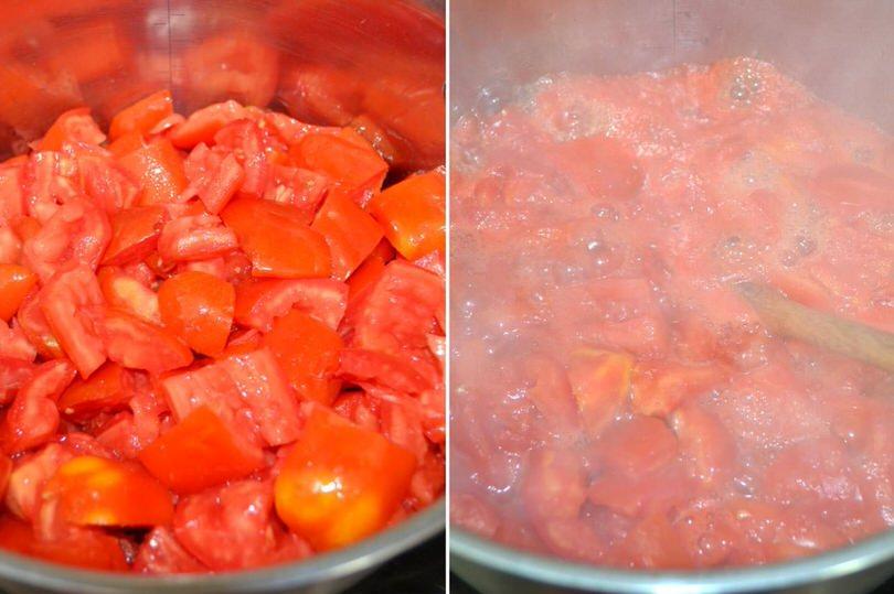 3 cuocere pomodori