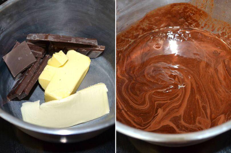Torta Pere Cioccolato Ricetta Misya 4 Bagnomaria Bagno Maria