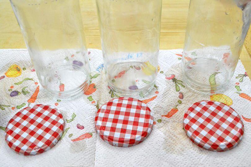 6 sterilizzare i vasetti