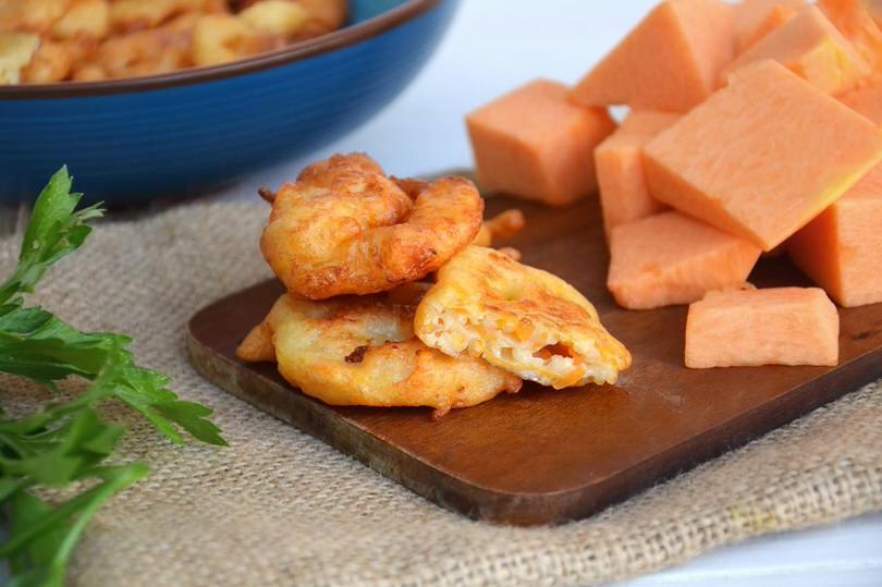 ricette Frittelle di zucca salate