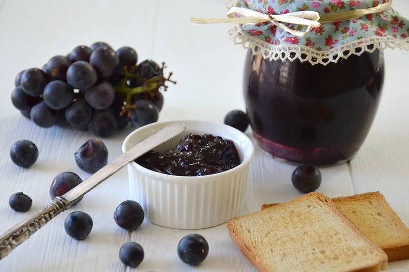 Ricette Uva Americana.Marmellata Di Uva Fragola Ricetta Marmellata Di Uva Fragola Di Misya