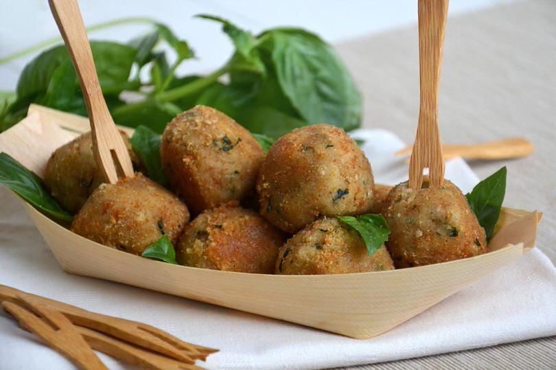 Finger food ricette Polpette di fagioli
