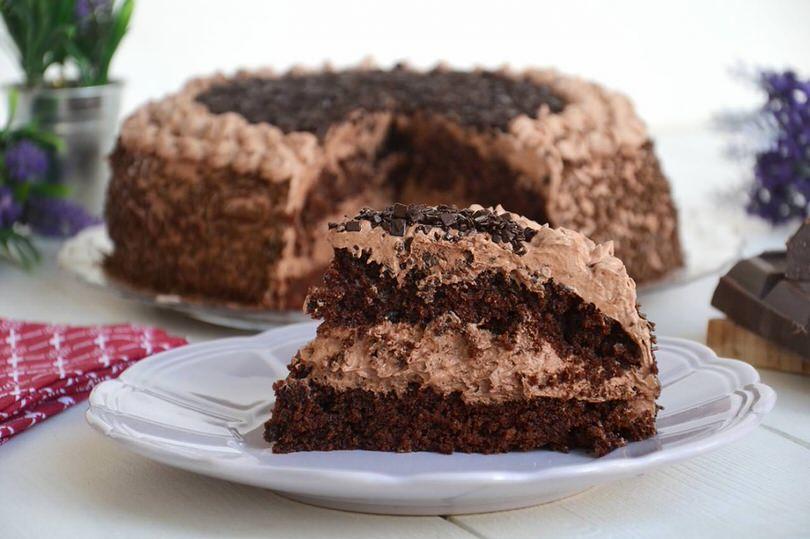 Chocolate Ice Cream Cake Video
