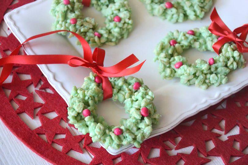 Ricette Dolci di Natale Ghirlande di cereali