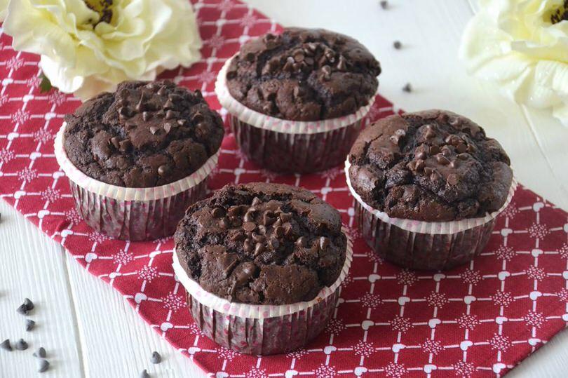 Ricetta per 4 muffin al cioccolato