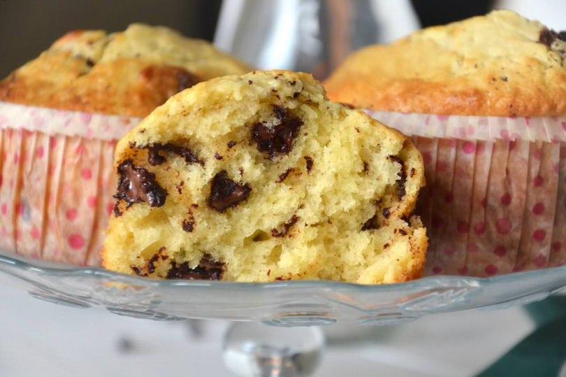muffin-ricotta-gocce-cioccolato