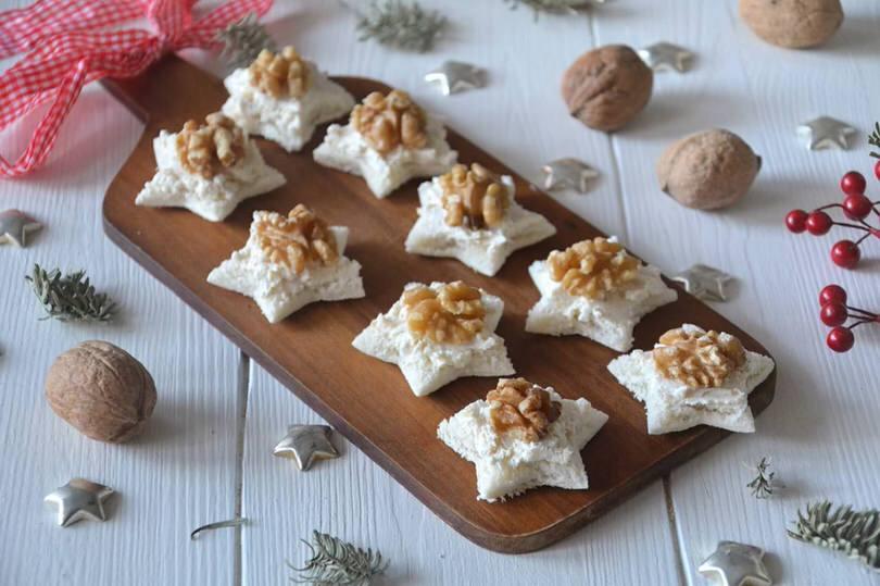 spesso Tartine alle noci - Ricetta Tartine alle noci di Misya NQ13