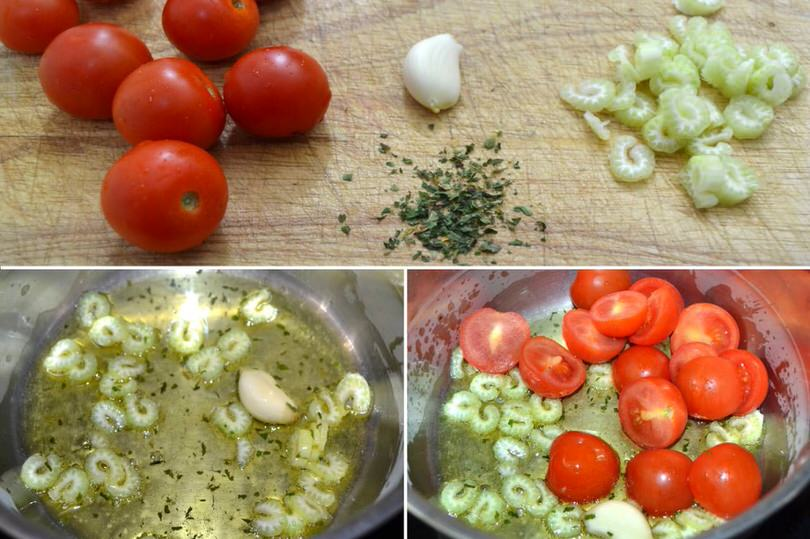 2-sedano-aglio-pomodorini