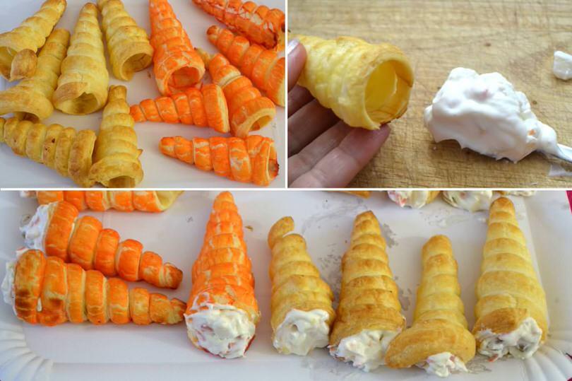 Favorito Coni di pasta sfoglia - Ricetta Coni di pasta sfoglia di Misya AQ05