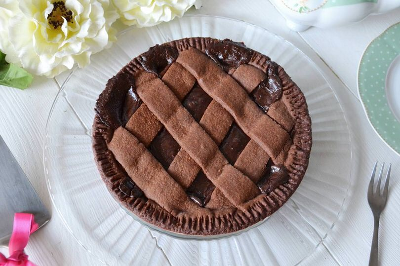 Ricette Crostate Crostata al cioccolato
