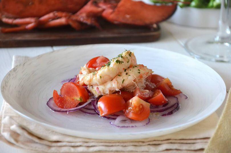 Ricette Antipasti di pesce Astice alla catalana
