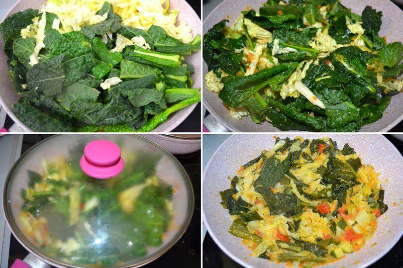 4 cuocere verdure