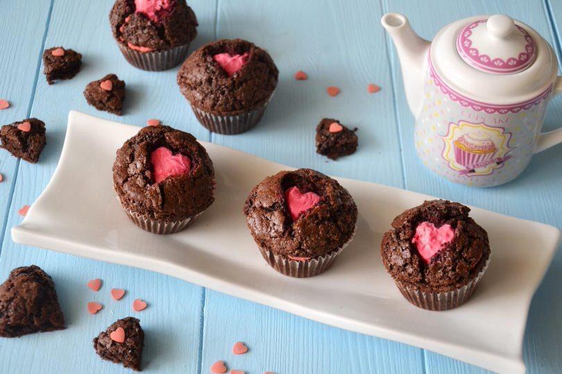 Muffin di san valentino ricetta muffin di san for Pensierini di san valentino