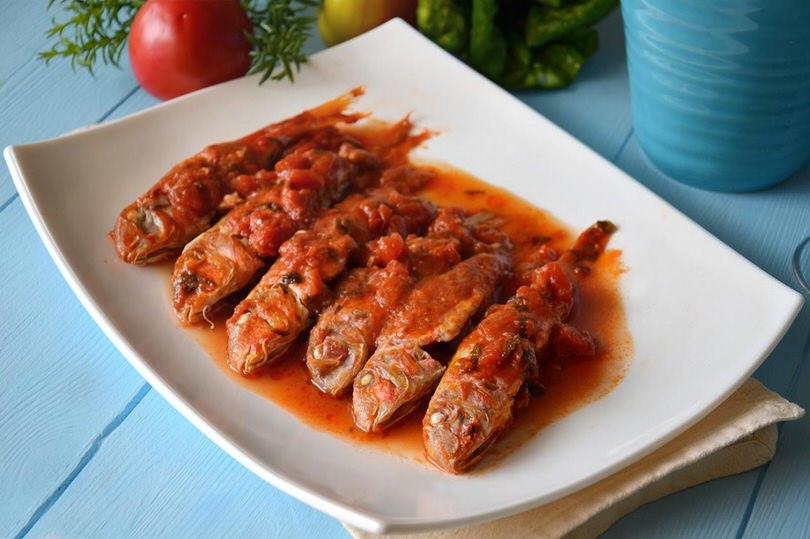 Ricette Secondi piatti Triglie alla livornese