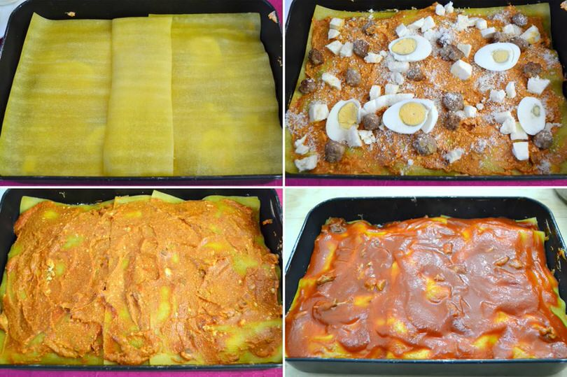 11 strati lasagne