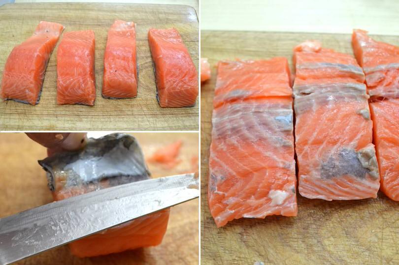 2 filetti di salmone