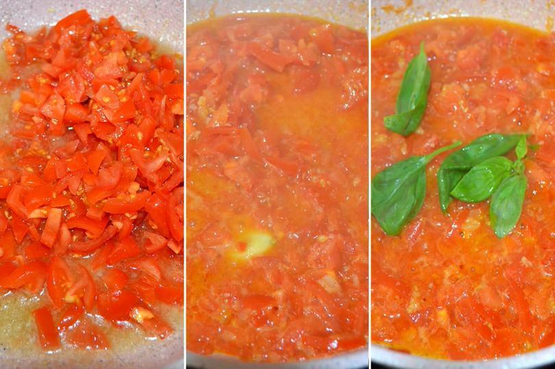 3 aggiungere pomodorini