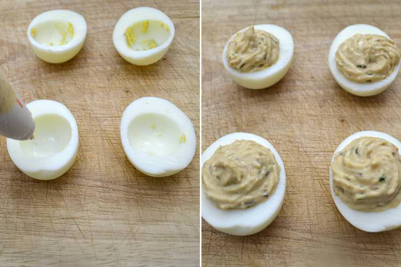 4 farcire uova