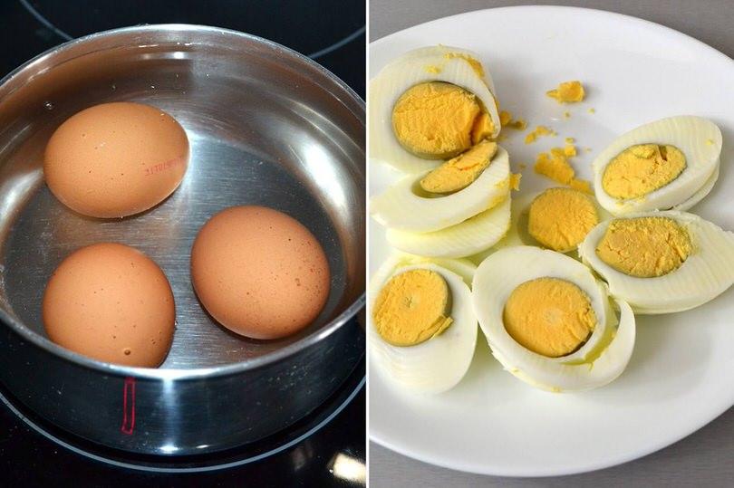 5 uova sode