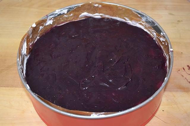 Cheesecake ai mirtilli 13