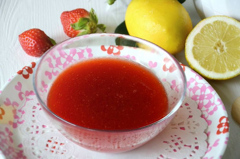 Ricette Base Coulis di fragole