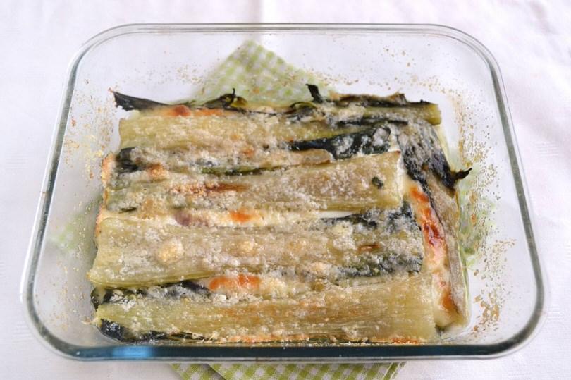 Parmigiana di coste di biete ricetta parmigiana di for Cucinare bietole