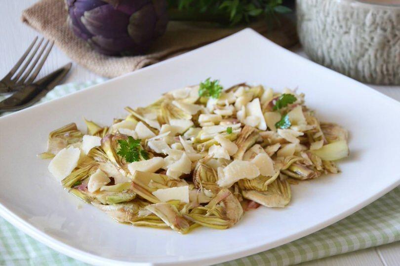 Insalata di carciofi ricetta insalata di carciofi di misya for Ricette insalate