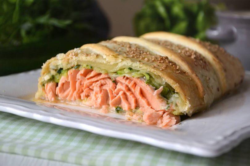 Estremamente Salmone in crosta - Ricetta Salmone in crosta di Misya CG03