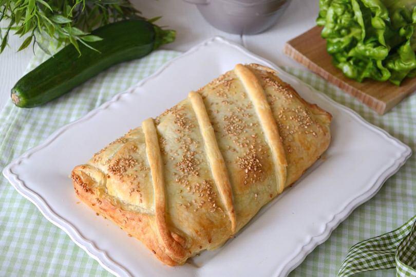Salmone in crosta ricetta salmone in crosta di misya - Ricette monica bianchessi pronto in tavola ...