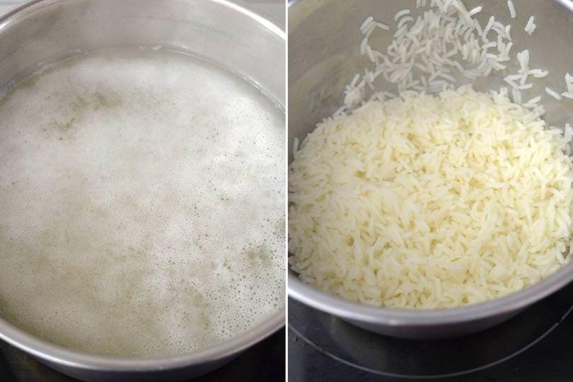 1 cuocere riso