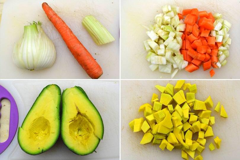 1 tagliare verdure