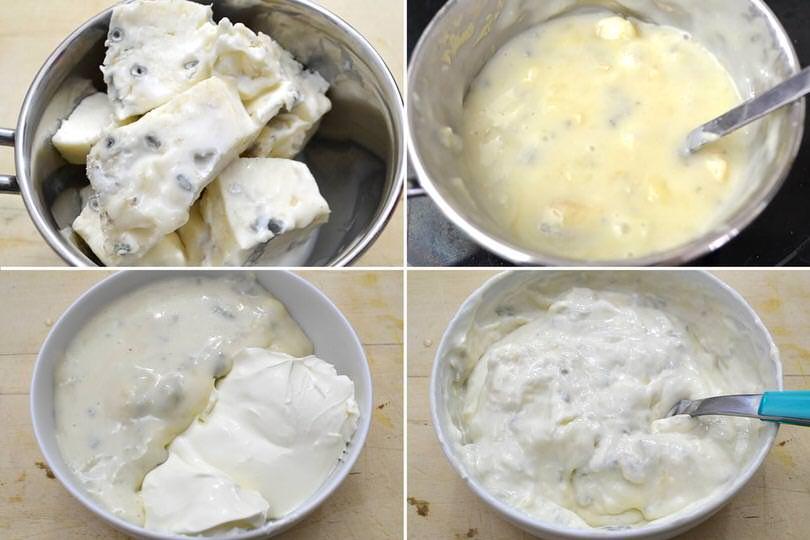 2 crema al gorgonzola