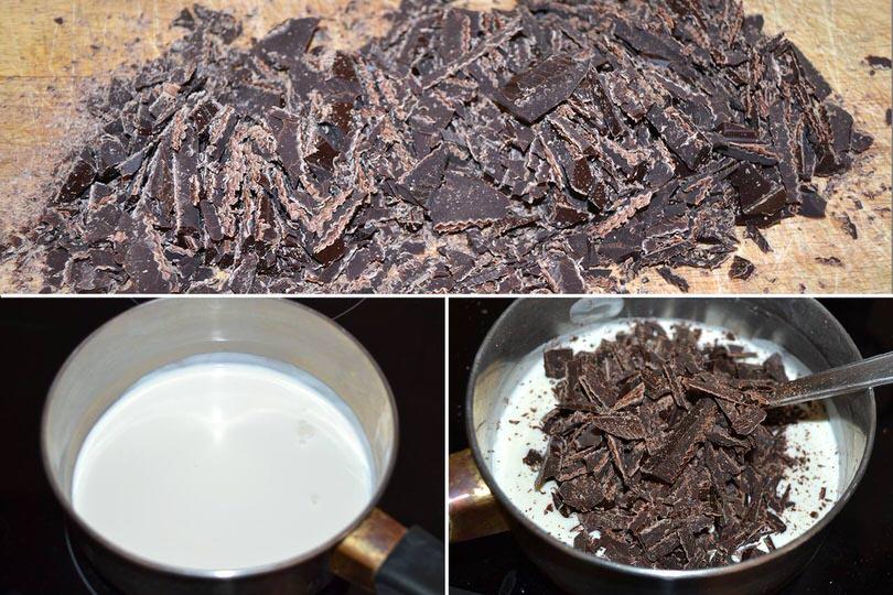2 tritare cioccolato