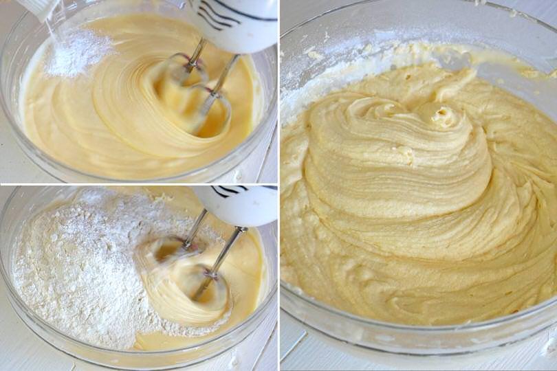 3 amalgamare farina