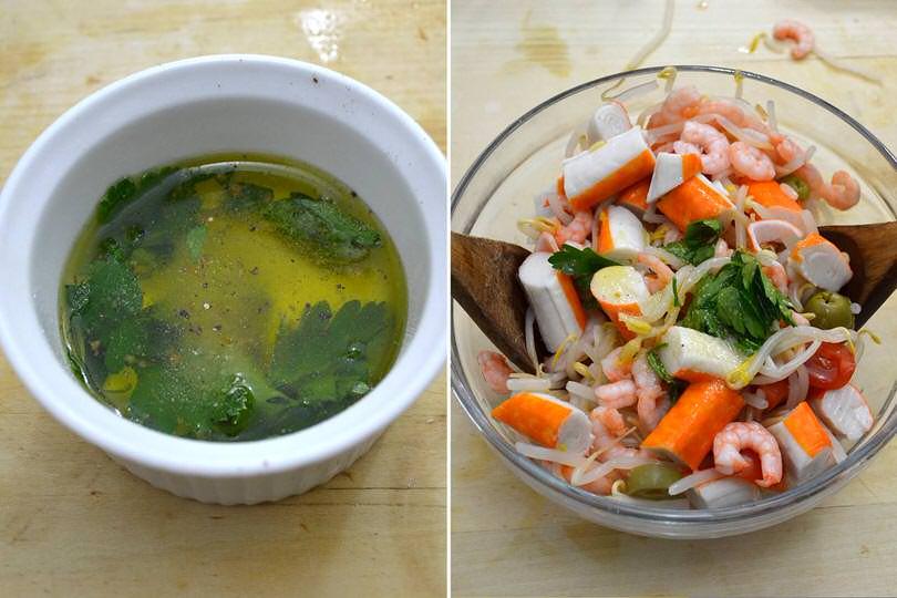 3 condire insalata