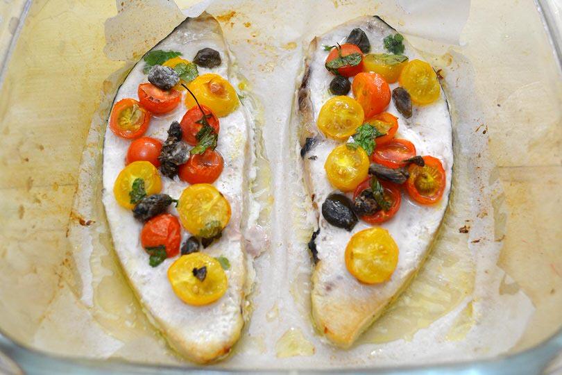 3 cuocere pesce spada