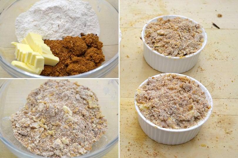 3 lavorare burro farina zucchero