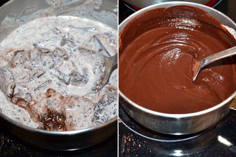 3 sciogliere cioccolato
