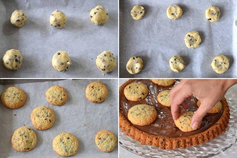 4 biscotti cookies