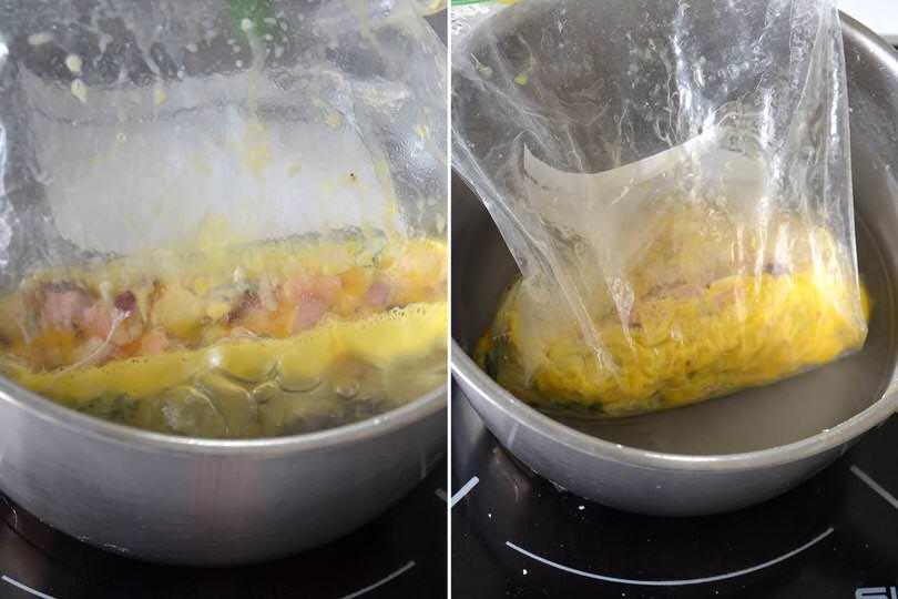 4 cuocere in acqua bollente